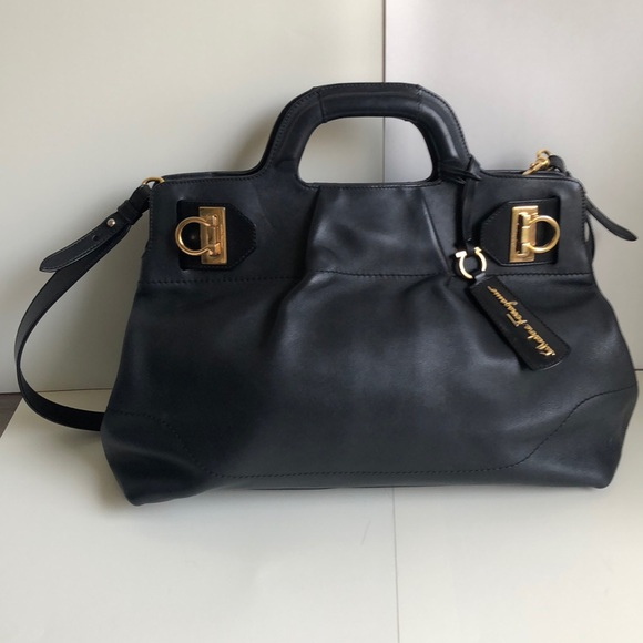 Salvatore Ferragamo Bags   Timeless Large Purse   Poshmark 5928d750ba
